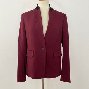 Rag & Bone 8 Archer Port Two Tone Fitted Blazer